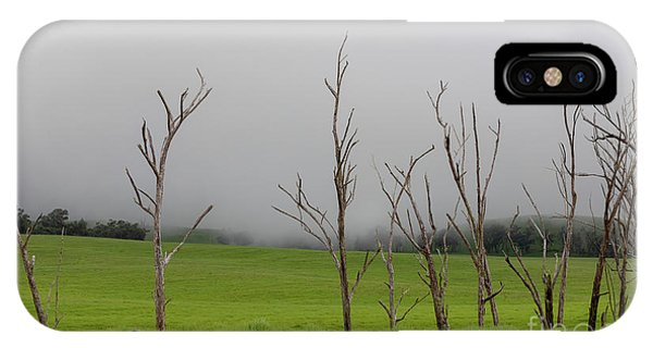 Mauna Kea Fog IPhone Case