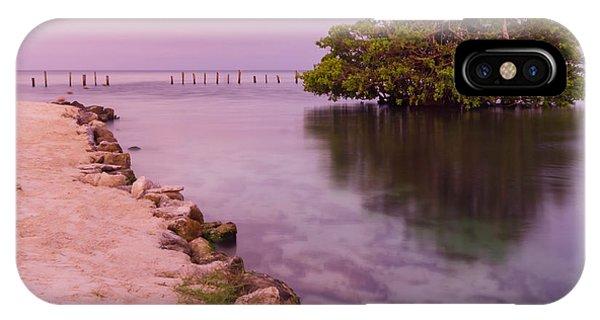 Mayan Sea Reflection 2 IPhone Case