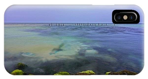 Mayan Sea Rocks IPhone Case