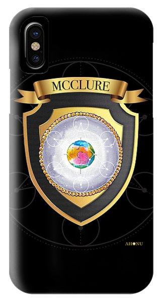 Mcclure Family Crest IPhone Case