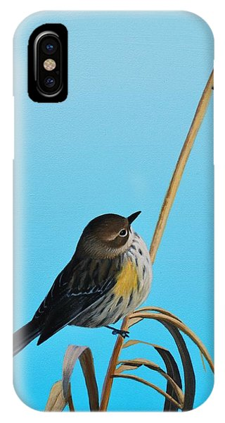 IPhone Case featuring the painting Meal Time by Peter Mathios