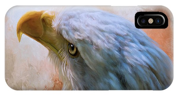 IPhone Case featuring the photograph Meant To Be - Eagle Art by Jordan Blackstone