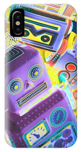 Cartoon iPhone Case - Mechanic Al Pop-art by Jorgo Photography - Wall Art Gallery