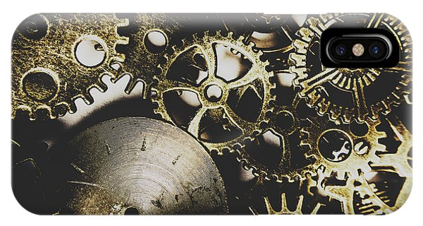 Industry iPhone Case - Mechanical Age by Jorgo Photography - Wall Art Gallery