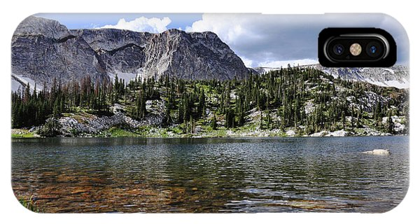 Medicine Bow Peak And Mirror Lake IPhone Case