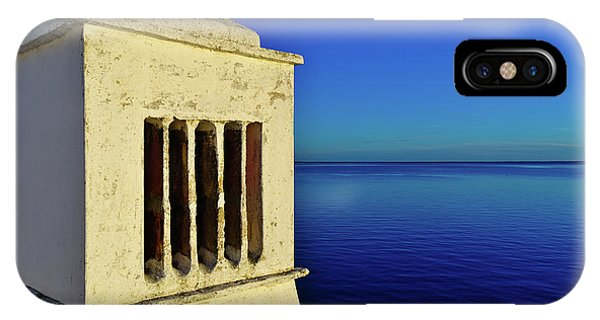Mediterranean Chimney In Algarve IPhone Case