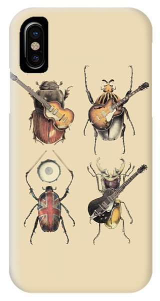 The iPhone Case - Meet The Beetles by Eric Fan