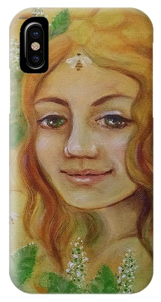 Melissa - Bee Goddess IPhone Case