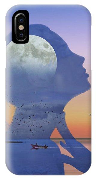 Melting Night IPhone Case