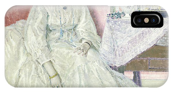 Deep Thought iPhone Case - Memories, 1915  by Frederick Carl Frieseke
