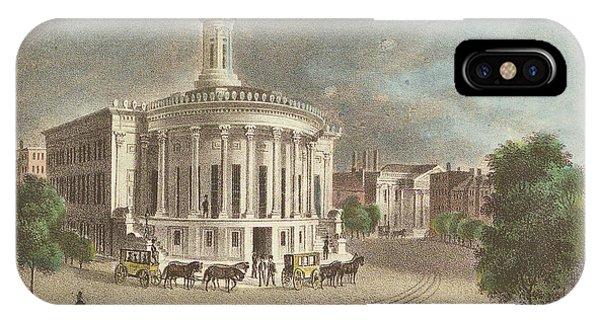 Merchants Exchange, 1838 IPhone Case