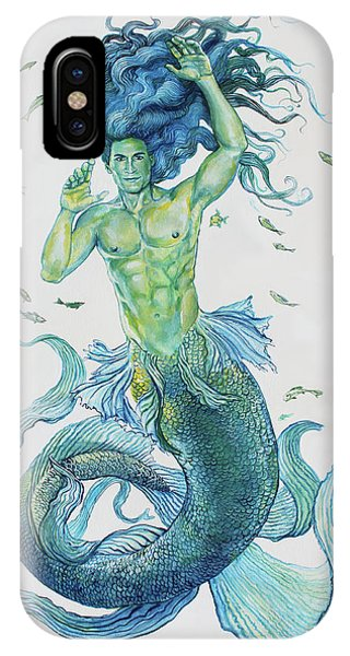 Merman Clyde IPhone Case