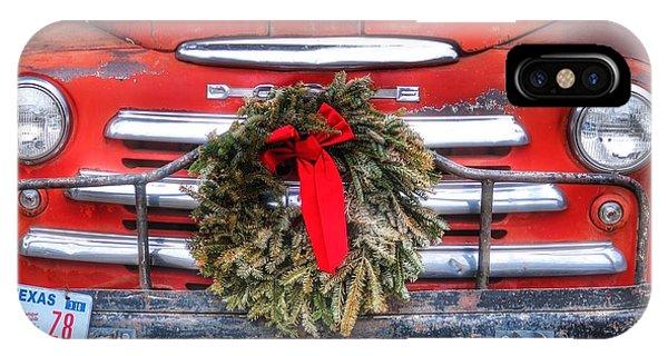 Merry Christmas Texas IPhone Case