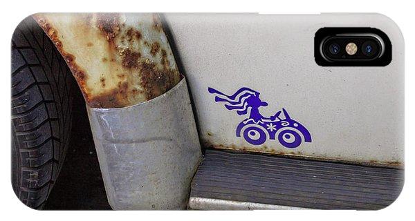 Metal Moth IPhone Case