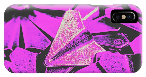 Flight iPhone Case - Metal Wings by Jorgo Photography - Wall Art Gallery