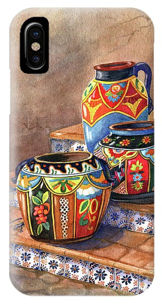 Adobe iPhone Case - Mexican Pottery Still Life by Marilyn Smith