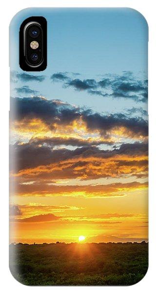 Mexico Sunset Portrait IPhone Case
