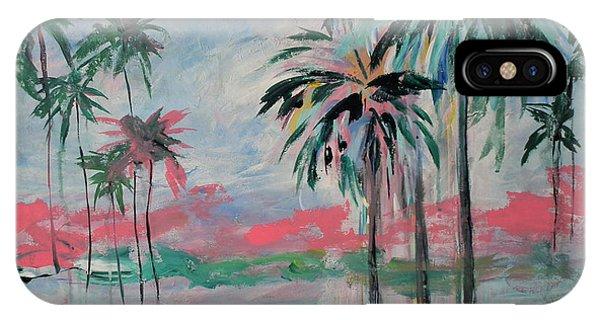 Miami Palms IPhone Case