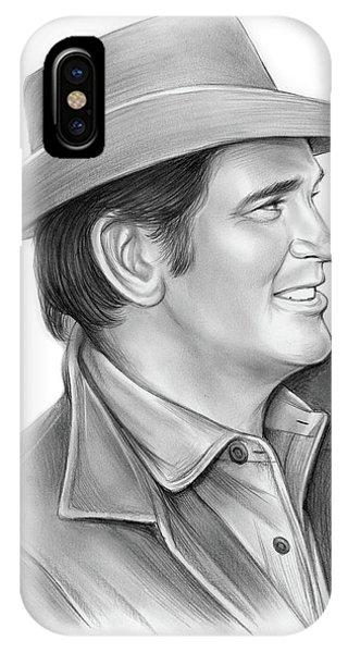 Highway iPhone Case - Michael Landon by Greg Joens