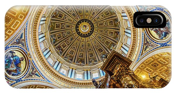iPhone Case - Michelangelo Dome Baldacchino, Altar by William Perry