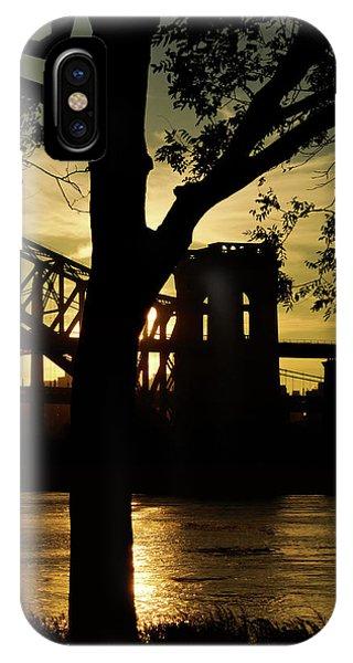 Mid Autumn Silhouette IPhone Case
