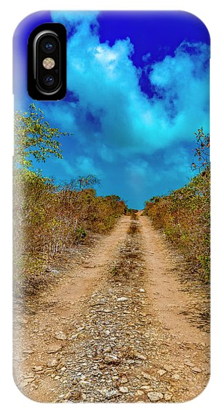 Middle Of Nowhere iPhone Case - Middle Caicos Rocky Road by Betsy Knapp