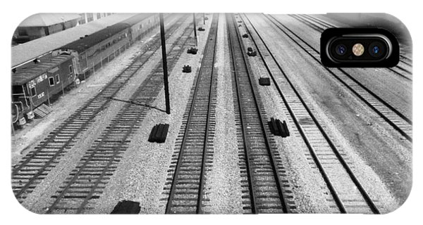 Middle Of The Tracks IPhone Case