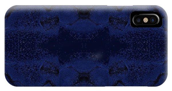 IPhone Case featuring the digital art Midnight Blue by Rachel Hannah