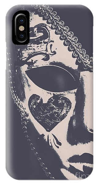 Art And Craft iPhone Case - Midnight Frill by Jorgo Photography - Wall Art Gallery
