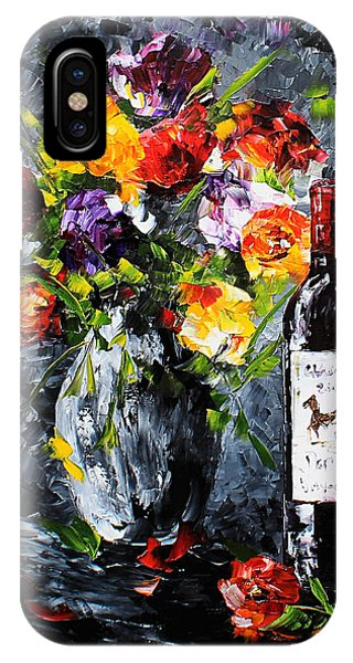 IPhone Case featuring the painting Midnight Love by Kevin Brown