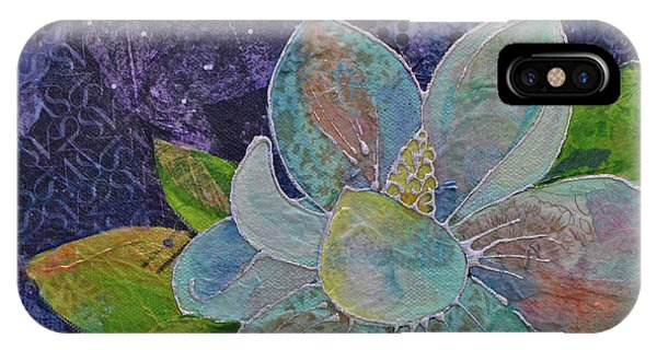 Bloom iPhone Case - Midnight Magnolia II by Shadia Derbyshire