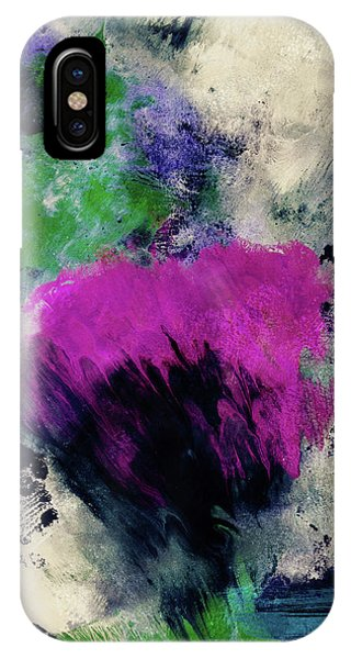 Pink iPhone Case - Midnight Rhapsody- Art By Linda Woods by Linda Woods
