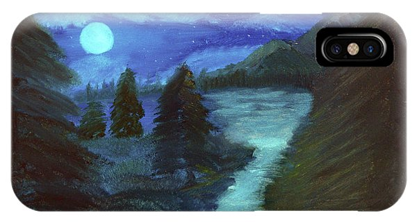 Midnight River IPhone Case