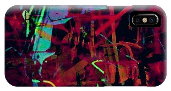 Midnite iPhone Case - Midnite Avant-garde Horn Madness by Tony Adamo