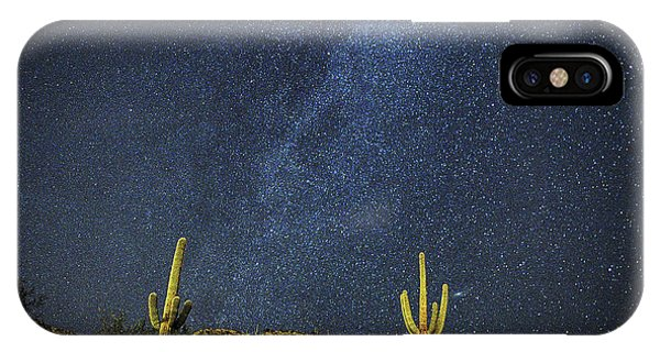 Milky Way And Cactus IPhone Case