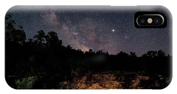Milky Way At Rocky Falls IPhone Case
