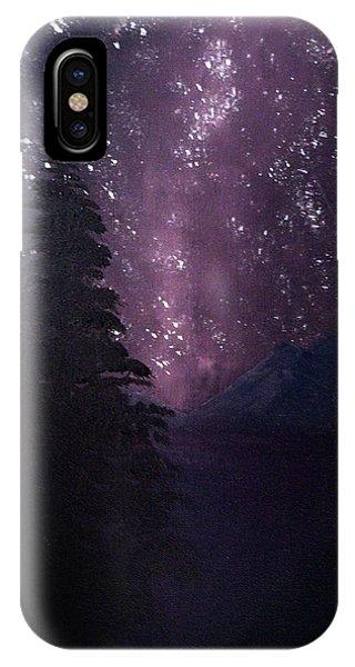 Milky Way Lake IPhone Case
