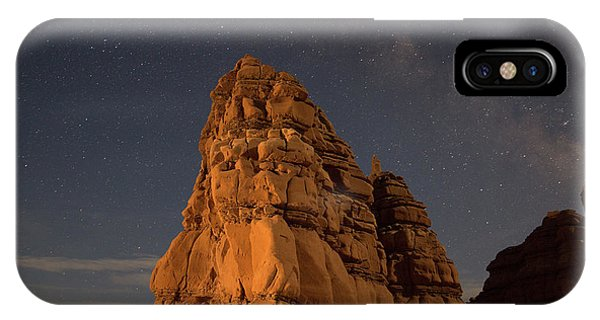 Milky Way On The Rocks IPhone Case