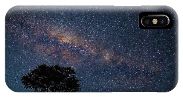Milky Way Over Africa IPhone Case