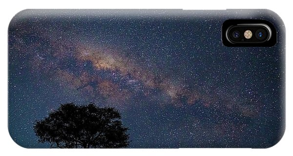 Milky Way Over Africa IPhone Case