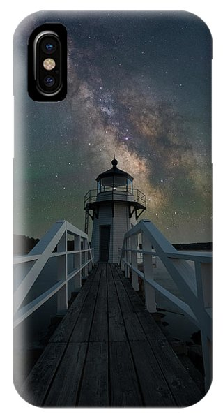 Milky Way Over Doubling Point IPhone Case