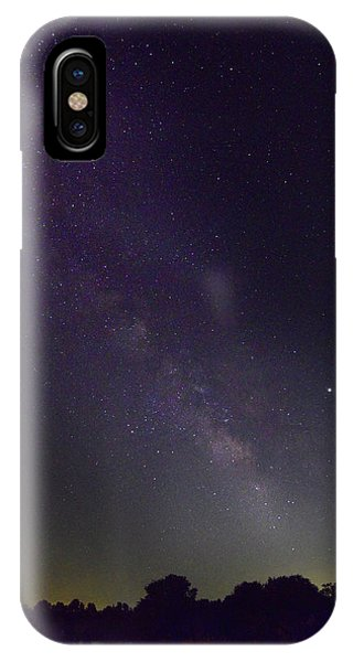Milky Way Over Prairie Lake IPhone Case