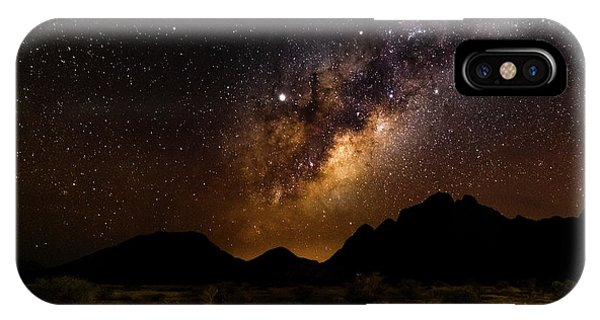 Milkyway Over Spitzkoppe 2, Namibia IPhone Case