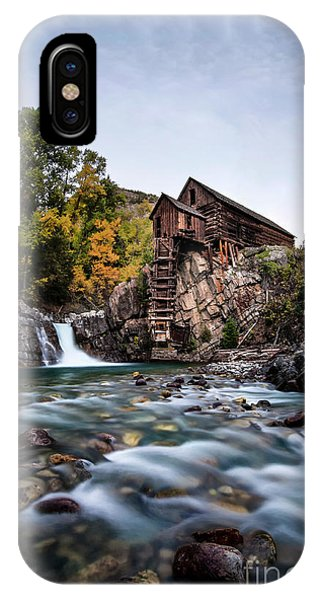Mill On Crystal River IPhone Case