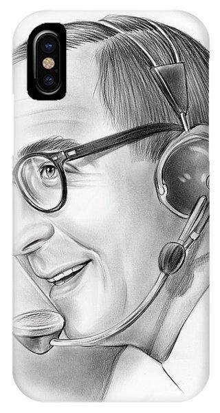 Graphite iPhone Case - Milton Metz  by Greg Joens
