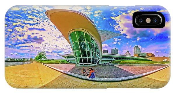 IPhone Case featuring the photograph Milwaukee Art Musem  Tom Jelen by Tom Jelen