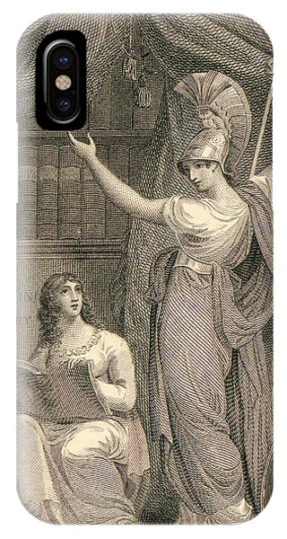 Minerva Directing Study To The  Attainment Of Universal Knowledge IPhone Case