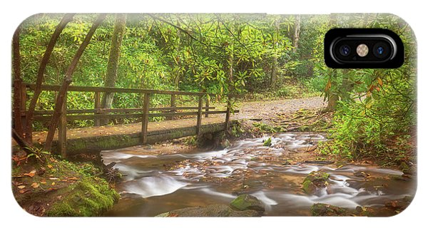 IPhone Case featuring the photograph Mingus Creek by Sharon Seaward
