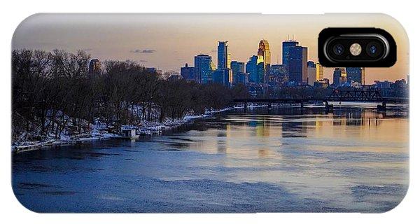 Minneapolis Skyline IPhone Case