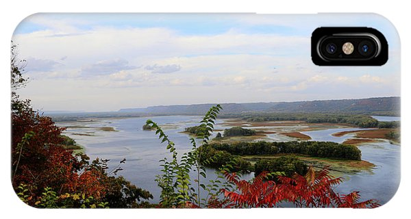Mississippi River In The Fall IPhone Case